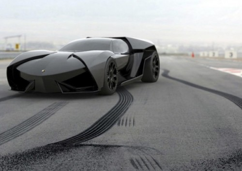 8091-500x353 Lamborghini выпустила новый суперкар с гибридным двигателем