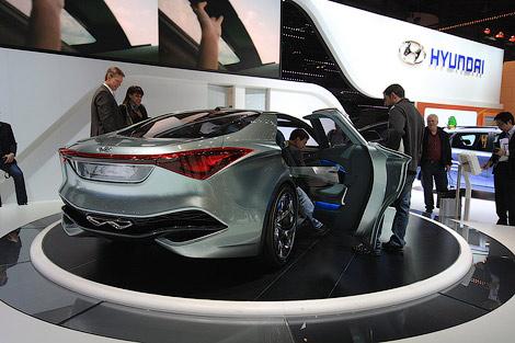 11 Моторшоу в Женеве: Hyundai и ее прототип новой Сонаты