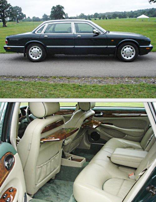 Jaguar Daimler Majestic королевы Елизаветы II