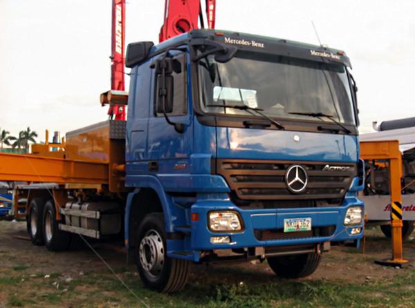 Mercedes Определились самые популярные марки грузовиков
