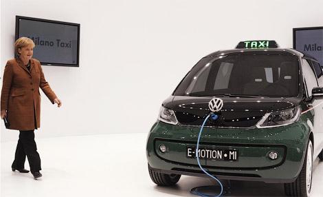 11 Volkswagen показал электрическое такси