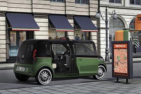 21 Volkswagen показал электрическое такси