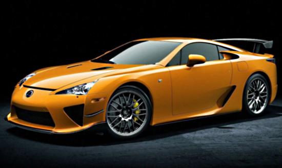 LF-A1 Lexus увековечил нюрбургригские трассы в новой модели