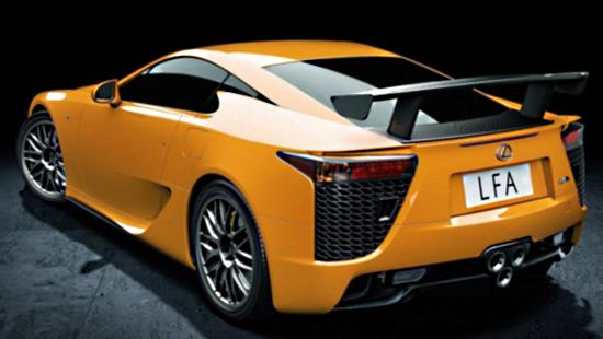 LFA Lexus увековечил нюрбургригские трассы в новой модели