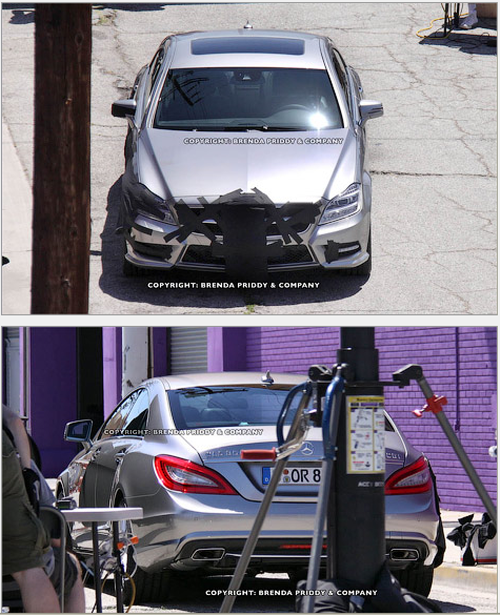 ������������� �� ����� Mercedes-Benz CLS
