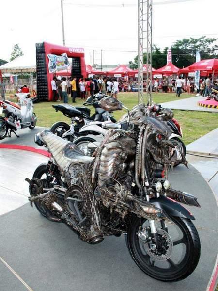 Predator-Motorcycle-2204-2 Мотоцикл-хищник из фильма Predator