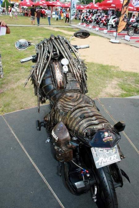 Predator-Motorcycle-2204-3 Мотоцикл-хищник из фильма Predator