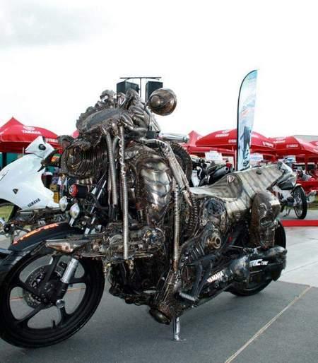 Predator-Motorcycle-2204-4 Мотоцикл-хищник из фильма Predator