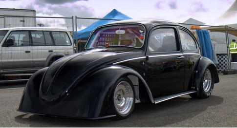 Авто на базе VW Beetle установило рекорд гонок по прямой