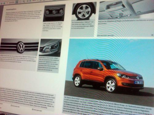 573493131409158661 Опубликованы первые снимки обновленного Volkswagen Tiguan