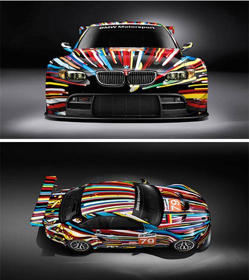 BMW BMW раскрасили для коллекции Art Car