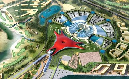 wvvar9 В Абу-Даби появится тематический парк Ferrari