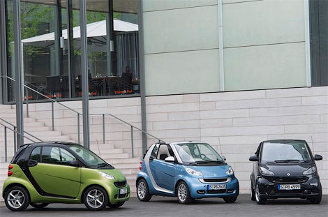 3 Smart ���������� ����������� ����������� ������ ForTwo