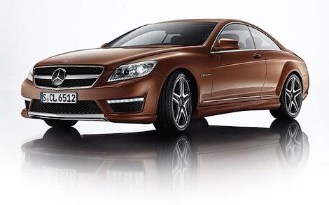 31 В Сети появились снимки AMG-версий обновленного купе Mercedes-Benz CL