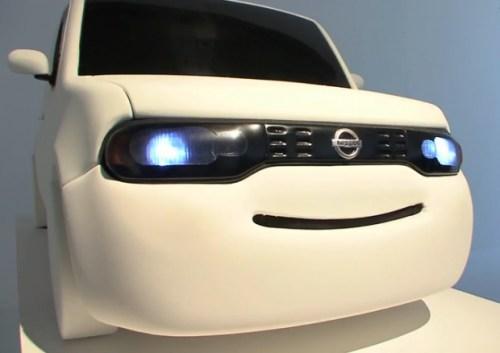 nissan-smiling-vehicle-2 В Японии представили улыбчивый автомобиль