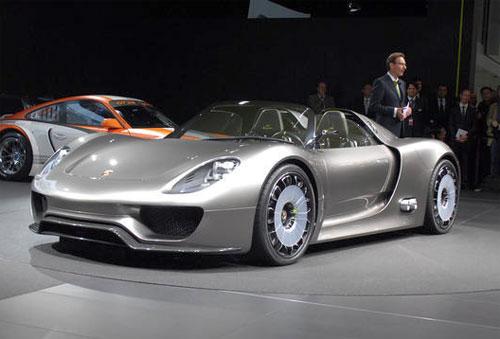 Porsche-918-Spyder1 Porsche представил самое дорогое авто в своей истории