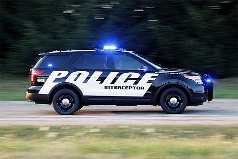 11 Ford выпустил полицейскую версию нового Explorer