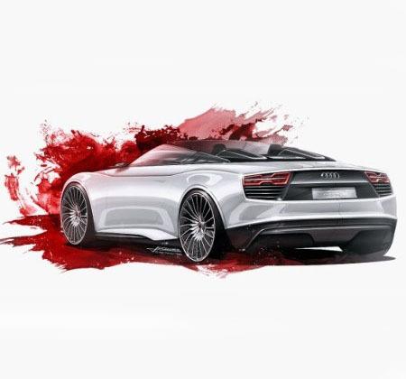 bg800_383983 Рассекречено изображение Audi e-tron Spyder