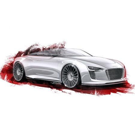 ������������ ����������� Audi e-tron Spyder