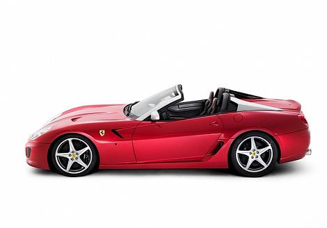 d1 Ferrari посвятила новую модификацию 599 GTB Fiorano ателье Pininfarina