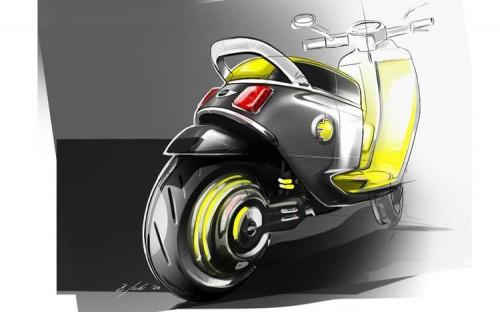 mini-electric-scooter-concept-sketch-rear-500x312 Smart начнет собирать двухколесные транспортные средства