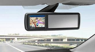 zmid_ford_mirror_navi Ford снабжает зеркала заднего вида своих автомобилей навигаторами