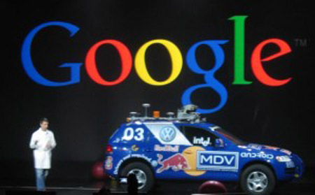 Google-Car-300x186 Вместо водителя - Google