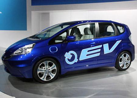 EV_m Представлен электроконцепт созданный на базе хетчбека Fit supermini