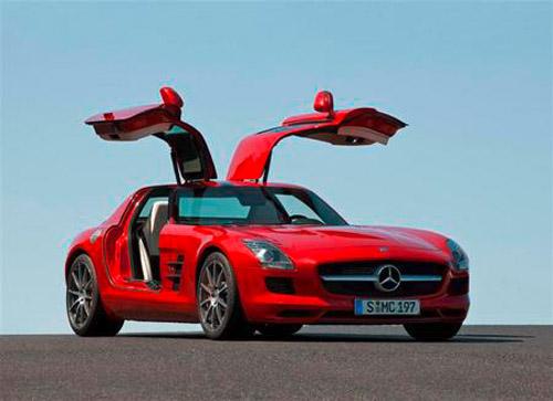 Mercedes-Benz-SLS-AMG-1211 Названы лучшие автомобили по версии Playboy