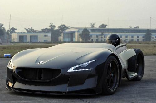 ���������� Peugeot EX1 ��������� ���� ������ ������