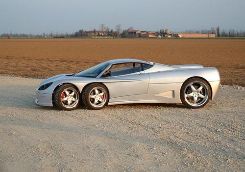 medium_3098766806_6bfe6d57a9_o Шестиколёсный спорткар C6W обрел окончательную версию