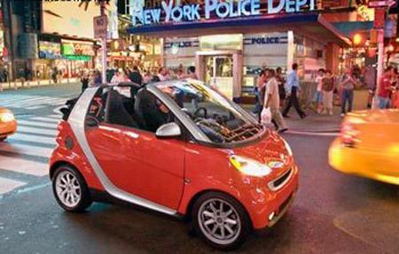 smartpark По Нью-Йорку на электромобиле
