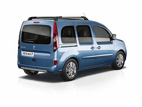 2 Компания Renault официально представила обновленный фургончик Kangoo