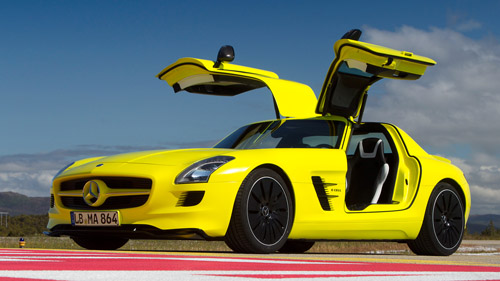 MB-SLS-AMG-E-Cell-01 Глава Mercedes-Benz рассказал о производстве серийного электрического суперкара