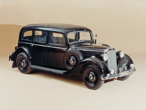 Mercedes-Benz-260D_1936_800x600_wallpaper_01 Первый серийный дизельный автомобиль отмечает 75-летний юбилей