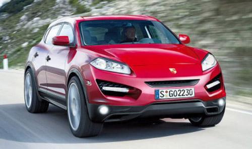 porsche-cajun-1 Porsche выпустит новый кроссовер и спорткар