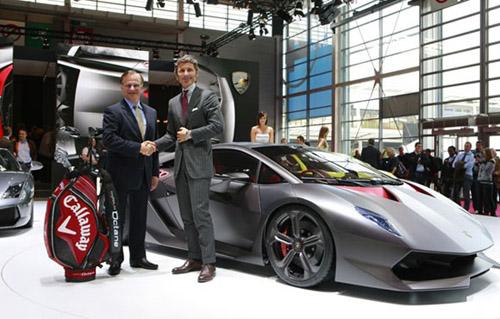 web580-lambo-callaway Callaway Golf и Lamborghini совместно разработали новый материал