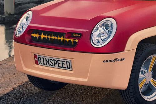 31 Швейцарское ателье Rinspeed создало прототип пляжного карта