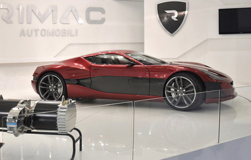 bg800_427841 Rimac Automobili представила во Франкфурте самый мощный электрокар