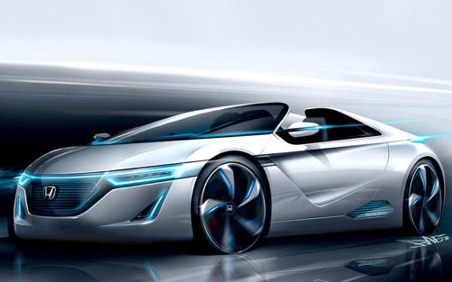 bg800_434504 На Токийском автосалоне Honda представит три концепта