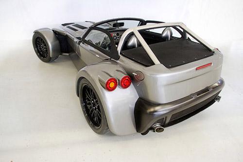 Donkervoort совместно с Audi построили карбоновый родстер