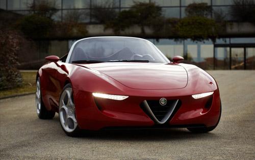 11 Концепт Alfa Romeo 2uettottanta