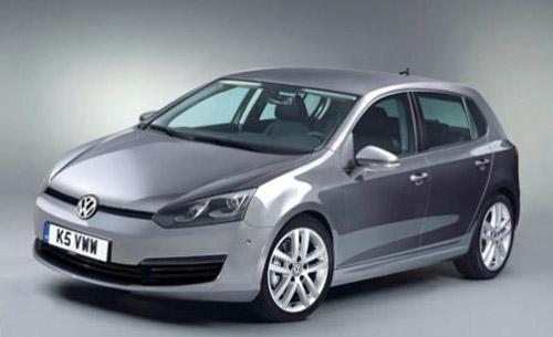 1253623310_2012-vw-golf-7 В Париже покажут седьмое поколение Volkswagen Golf