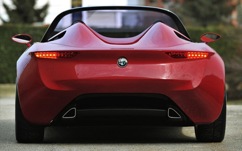 23 Концепт Alfa Romeo 2uettottanta