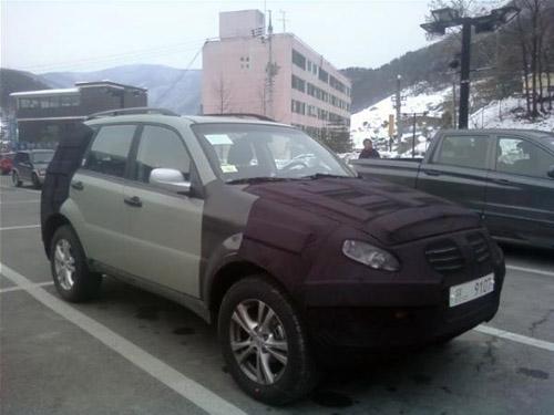 Ssangyong-Rexton-facelift В конце 2012 года у дилеров появится обновленный Санг Йонг Рекстон