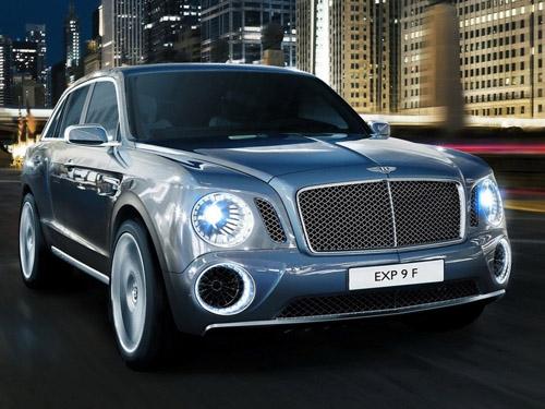bg800_448390 Bentley показал в Женеве свой первый кроссовер