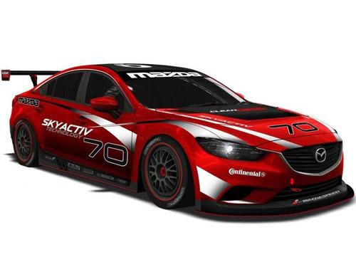 bg800_480668 Дизельный спорткар Mazda6 примет участие в американских гонках на выносливость