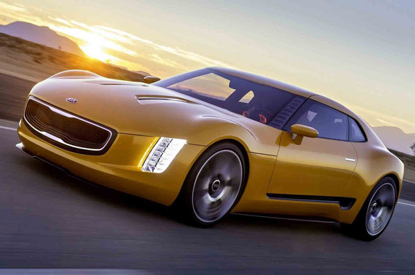 На выставке в Детройте Kia покажет 300-сильный спорткар
