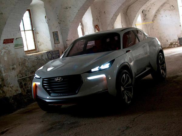 Hyundai создала новый концепт из карбона