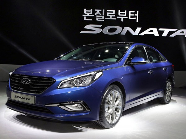 В Корее показали новую Hyundai Sonata